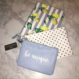 3 Beautiful clutches, small bags 🍋💕✨